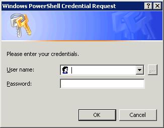 API Programming » Pass Credentials via PowerShell