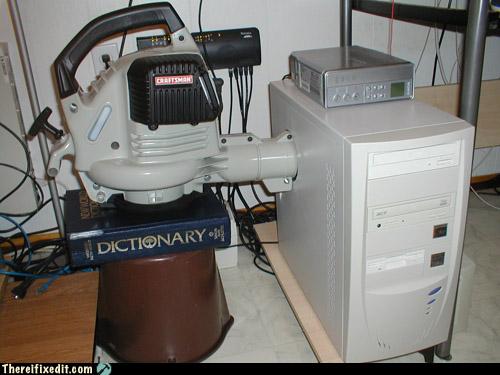 Massive Computer Fan